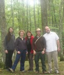 Pleuni Pennings, Susanne Foitzik, Tobias Pamminger, Andreas Mödlmeier (West Virginia 2009)