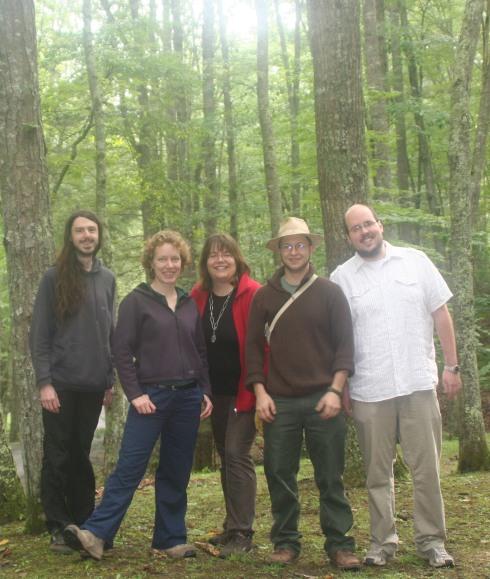 Stefan Suette, Pleuni Pennings, Susanne Foitzik, Tobias Pamminger, Andreas Mödlmeier (West Virginia 2009)